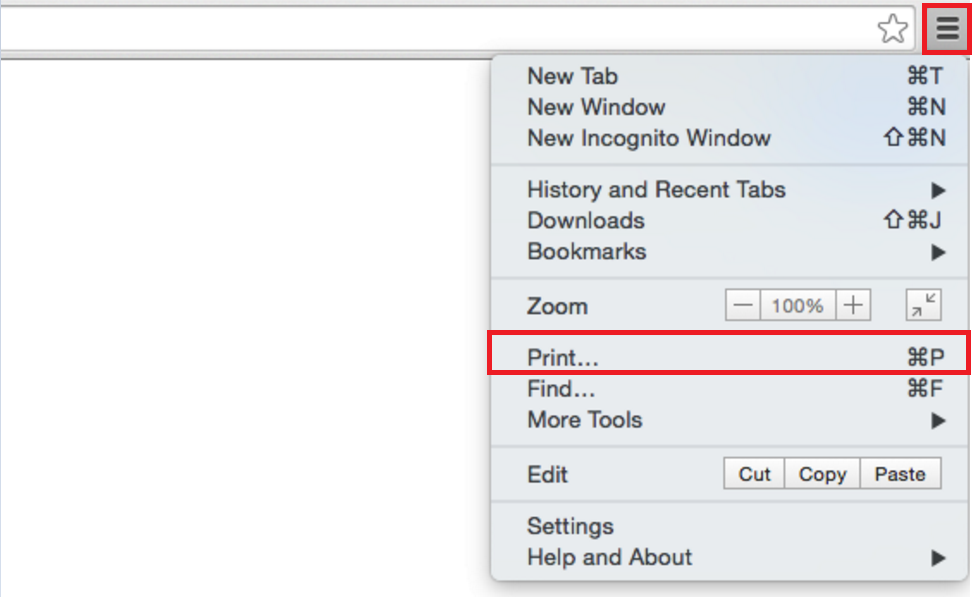 How To: Save a Document as PDF on Mac (from Google Chrome