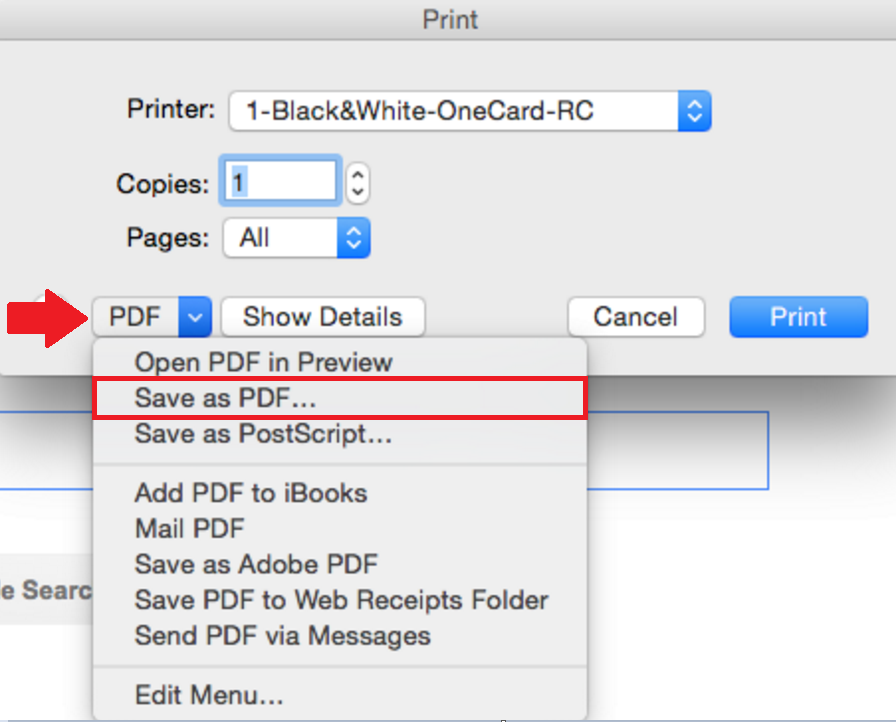 How To: Save a Document as PDF on Mac (from Firefox) – Academic